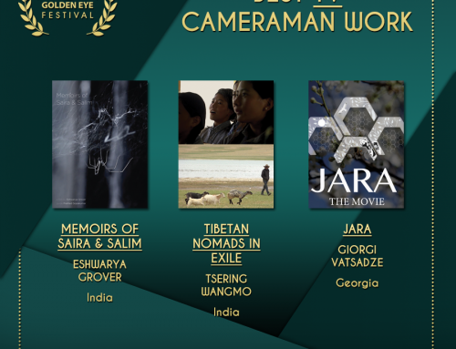 Giorgi Vatsadze of Jara is nominated for Best TV Cameraman Work at Golden Eye 2018