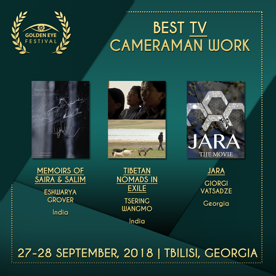 Jara is the Finalist of Wolves Independent International Film